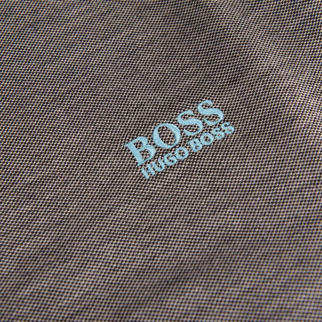 BOSS Athleisure Slim Fit Pleesy 4 Polo Shirt in Blue