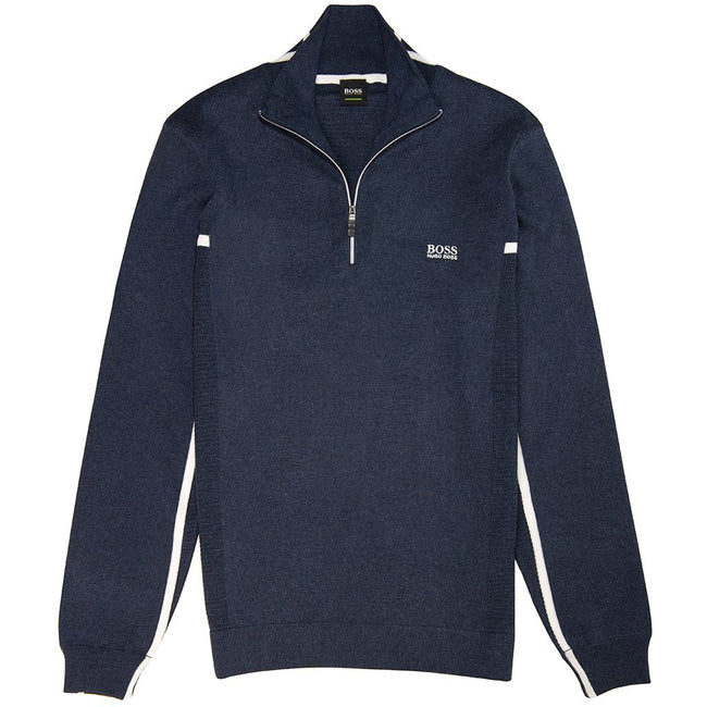 BOSS Athleisure Zanja 1/4 Zip in Navy