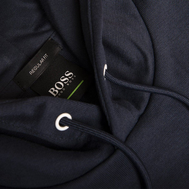 BOSS Athleisure Soody Hooded Sweatshirt in Navy Hoodies BOSS