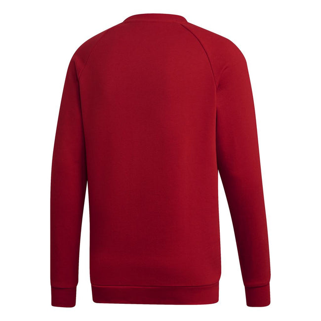 Adidas 3 Stripes Crew Neck Sweatshirt DV1553 in Power Red sweatshirt adidas