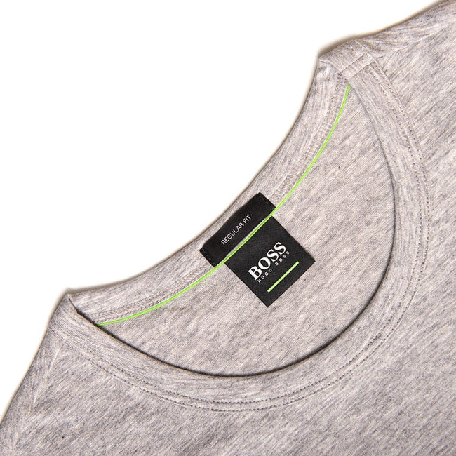 BOSS Athleisure Crew Neck Tee in Grey T-Shirts BOSS