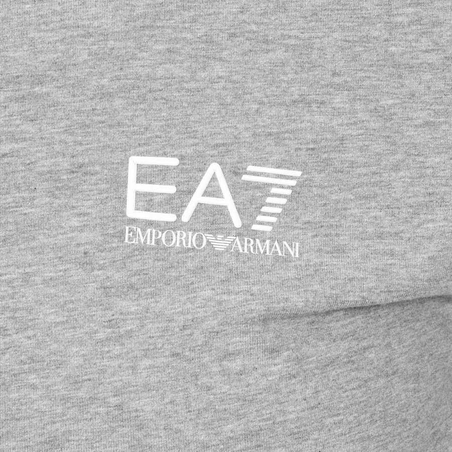 Emporio Armani EA7 Core ID Polo Shirt in Grey Marl