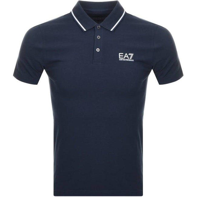 Emporio Armani EA7 Core ID Polo Shirt in Night Blue Polo Shirts Emporio Armani EA7