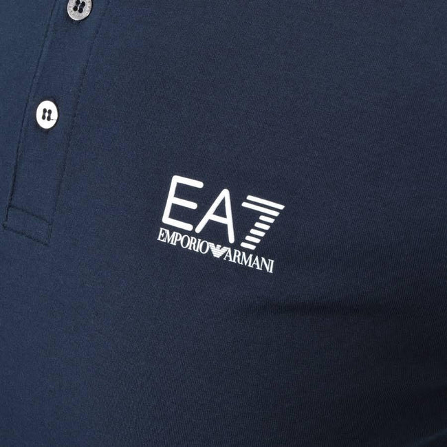 Emporio Armani EA7 Core ID Polo Shirt in Night Blue