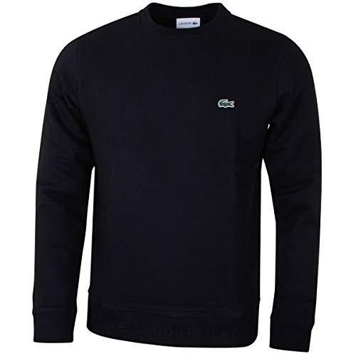 Lacoste SH4385-031 Crew Neck Sweatshirt in Black