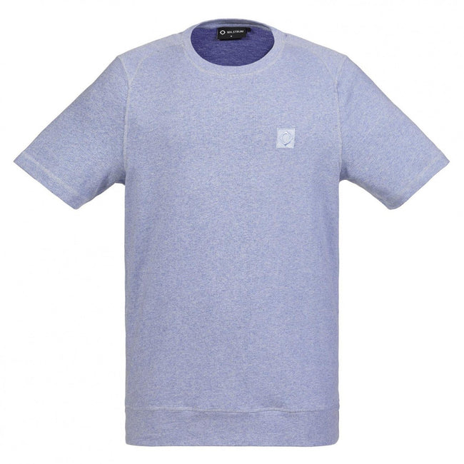 MA.Strum Icon Melange Tee in Dutch Blue