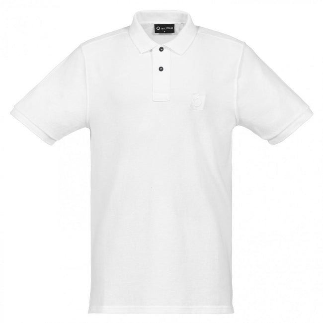 MA.Strum Icon Polo Shirt in White