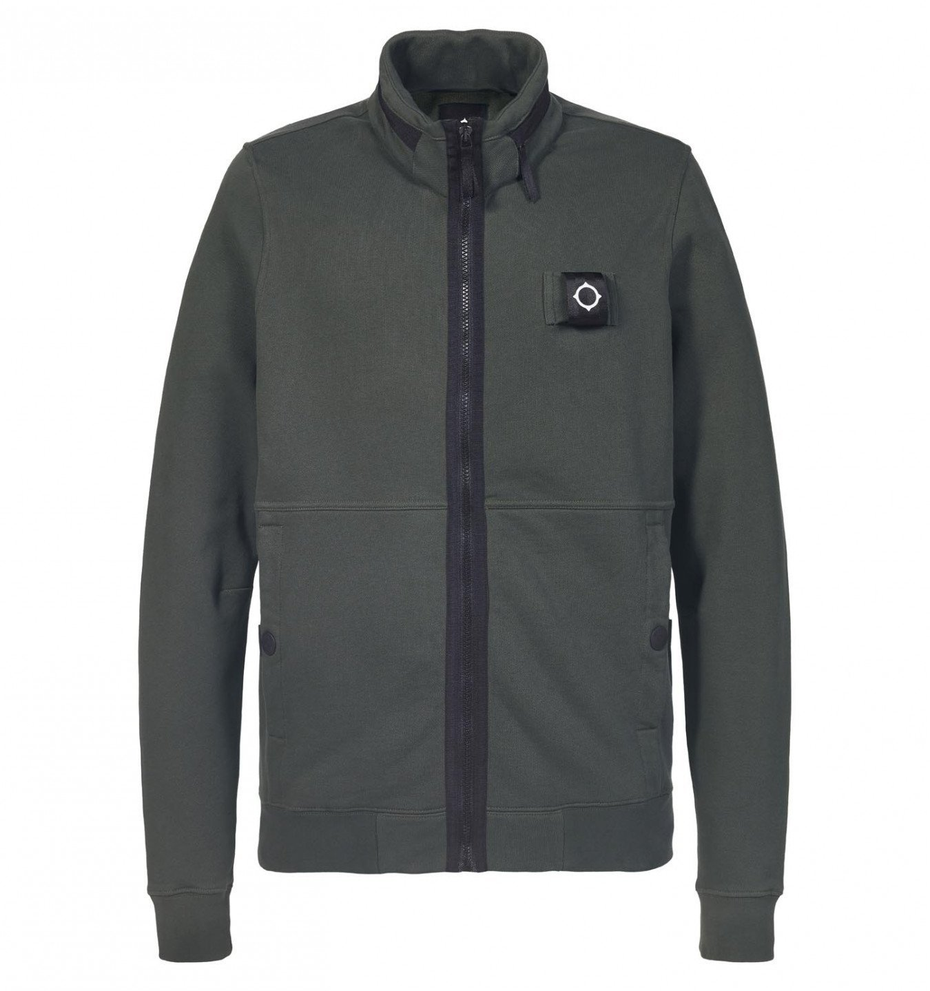 MA.Strum Training Jacket in Dark Khaki Green