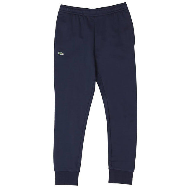 Lacoste Sport XH9507-166 Cotton Fleece Tennis Sweatpants in Navy