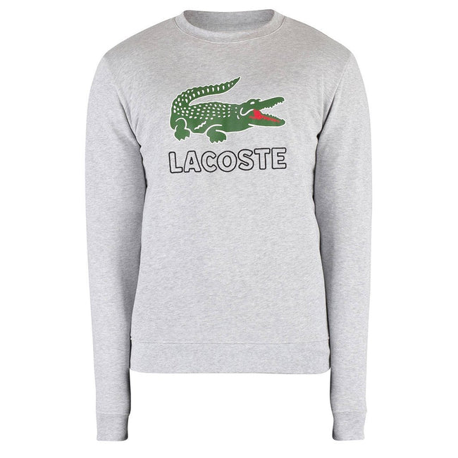 Lacoste SH6382-CCA Sweatshirt in Light Grey