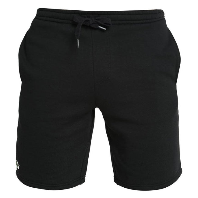 Lacoste Sport GH2136-031 Tennis Fleece Shorts in Black