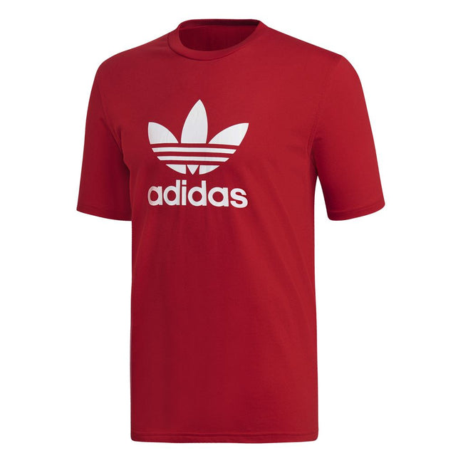 Adidas Trefoil T-Shirt DX3609 in Power Red T-Shirts adidas