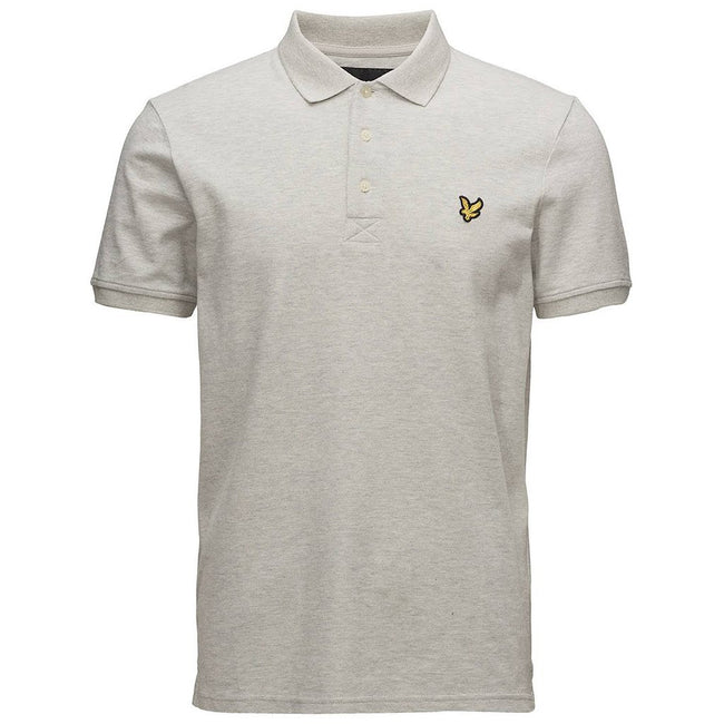Lyle & Scott Polo Shirt in Light Grey