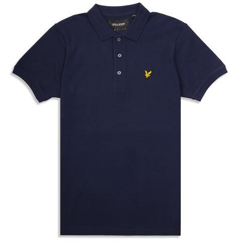 Polo Shirt in Navy Polo Shirts Lyle & Scott