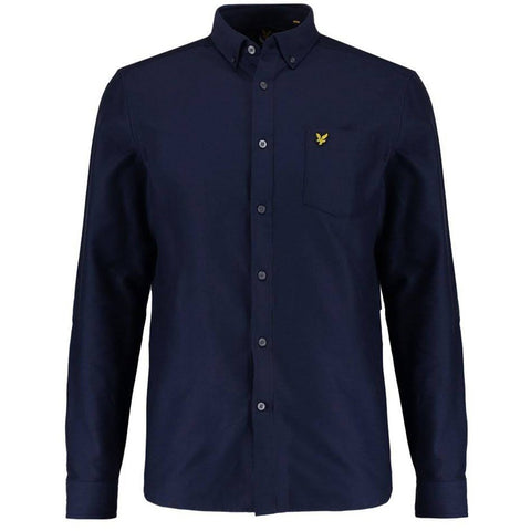 Lyle & Scott Oxford Shirt in Navy Shirts Lyle & Scott