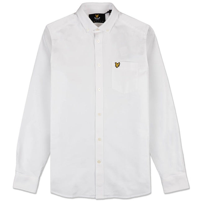 Lyle & Scott Oxford Shirt in White