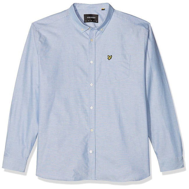 Lyle & Scott Oxford Shirt in Riviera