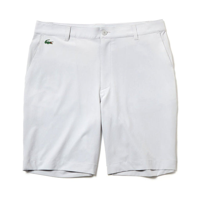 Lacoste Sport FH9524-ACZ Stretch Technical Bermuda Shorts in Light Grey
