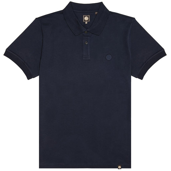 Pretty Green Jersey Polo Shirt in Navy