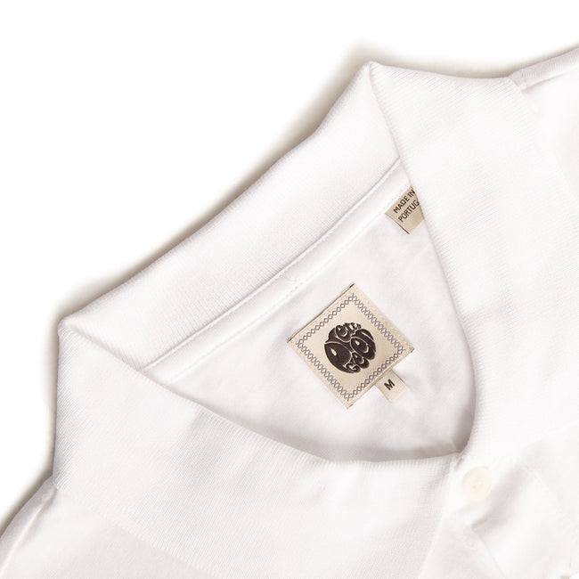 Pretty Green Jersey Polo in White