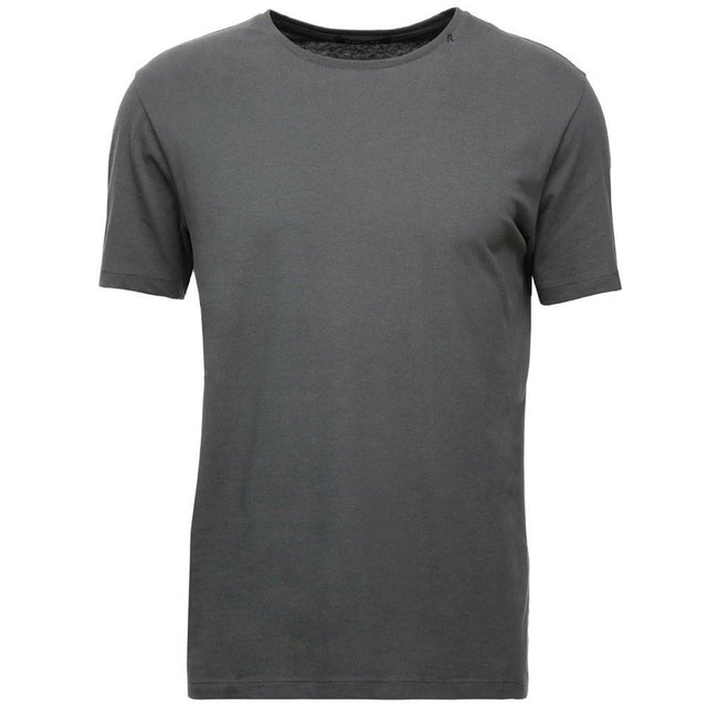 Replay Pure Cotton Crewneck T-Shirt in Grey