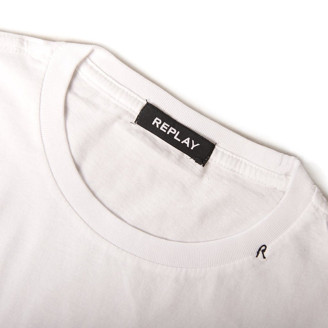 Replay Graphic T-Shirt in White