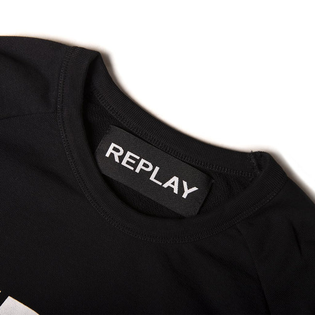Replay Chronicle Sweater in Black