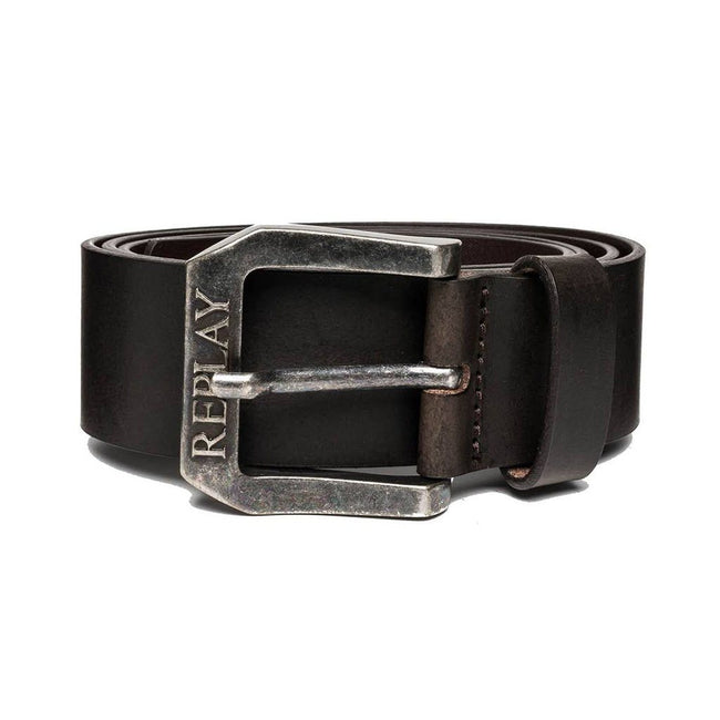 Replay Belt in Black/ Brown