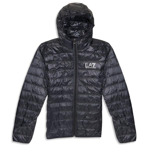 EA7 Emporio Armani Down Jacket in Black