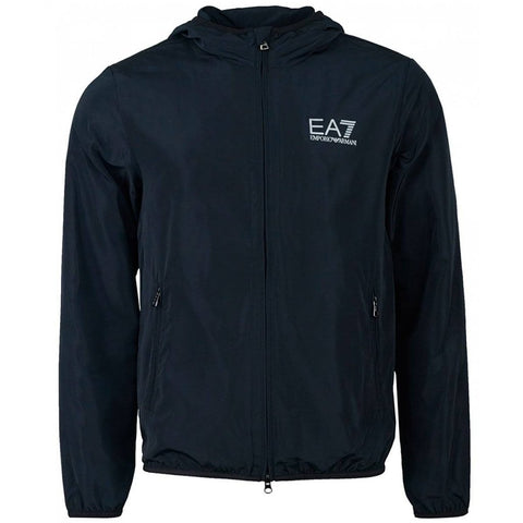 Emporio Armani EA7 Bomber Jacket in Night Blue Coats & Jackets Emporio Armani EA7