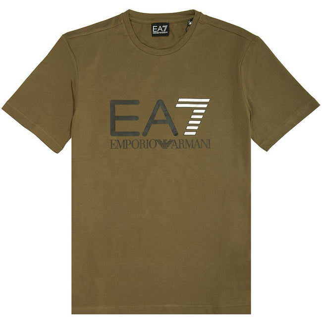 EA7 Emporio Armani Train Series T-Shirt in Stone Grey