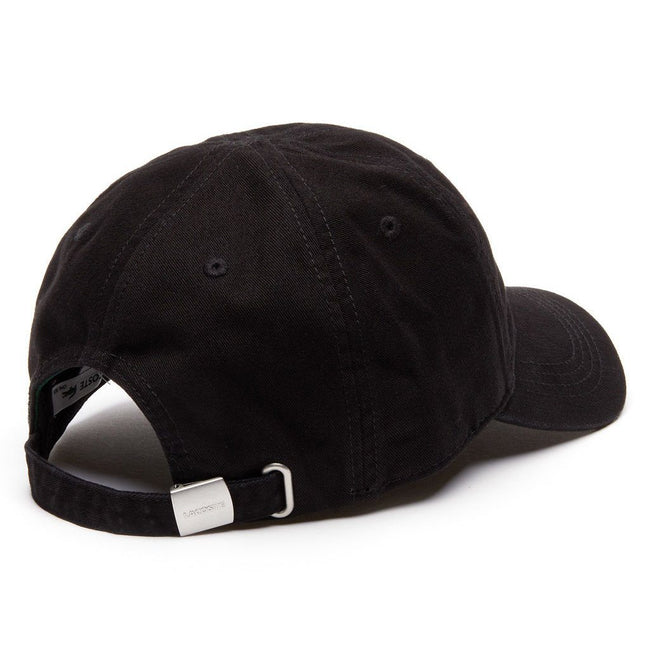 Lacoste Baseball Cap in Black