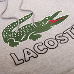 Lacoste Crocodile Hoodie in Grey Hoodies Lacoste