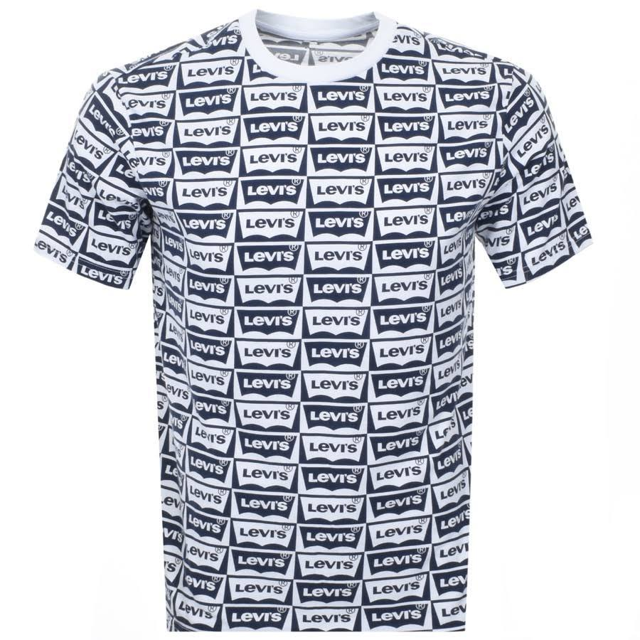 Levi's Graphic T-Shirt in Black/ White
