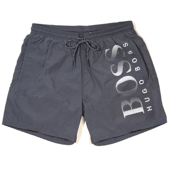 BOSS Athleisure Octopus Swim Shorts in Grey