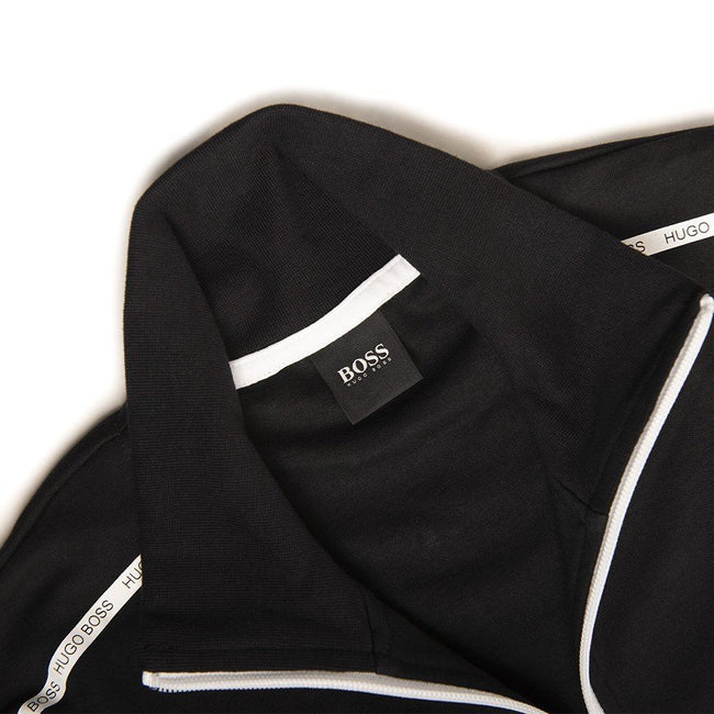 BOSS Bodywear Full Zip Track Jacket in Black
