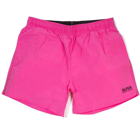 BOSS Athleisure Perch Swimming Shorts in Pink Swimwear BOSS
