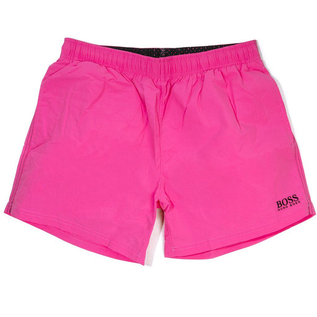 BOSS Athleisure Perch Swimming Shorts in Pink
