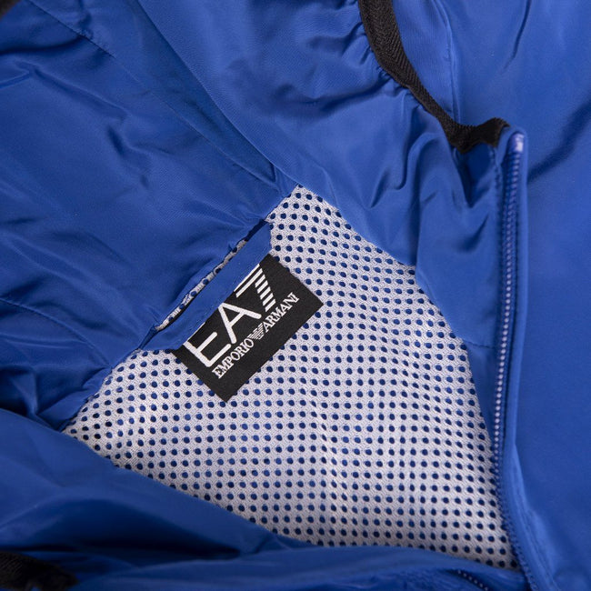EA7 Emporio Armani Bomber Jacket in Surf Blue