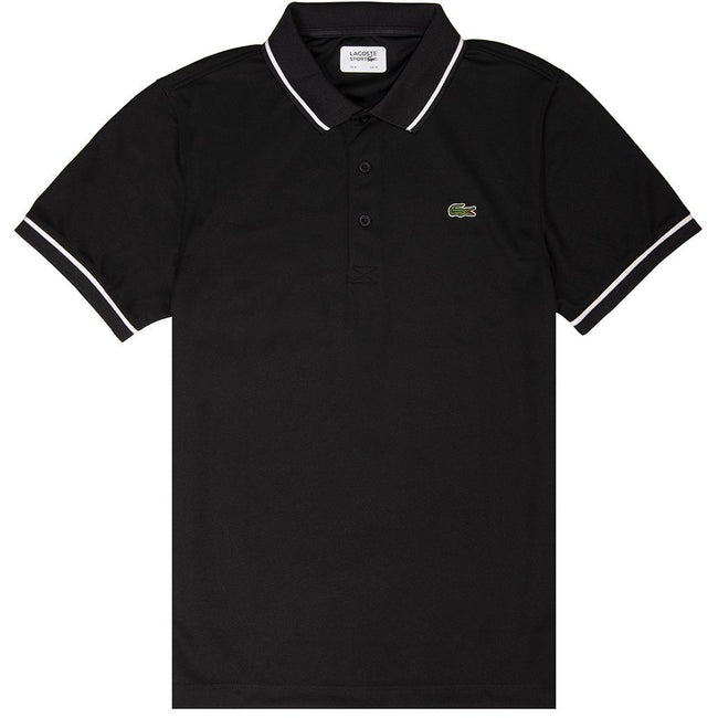 Lacoste Sport DH9630-258 Polo Shirt in Black
