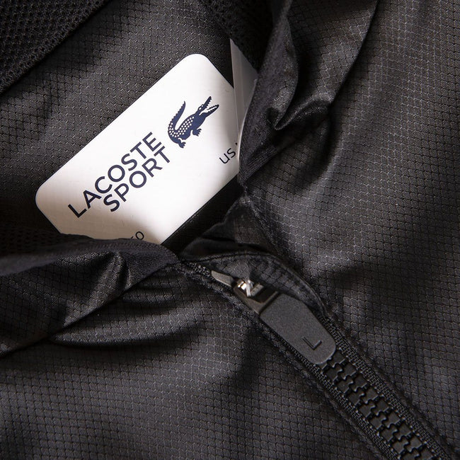 Lacoste Sport BH3589-C31 Full Zip Jacket in Black