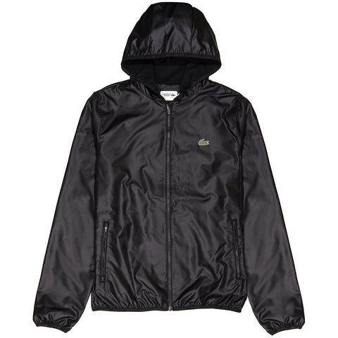 Lacoste Sport BH3589-C31 Full Zip Jacket in Black Coats & Jackets Lacoste