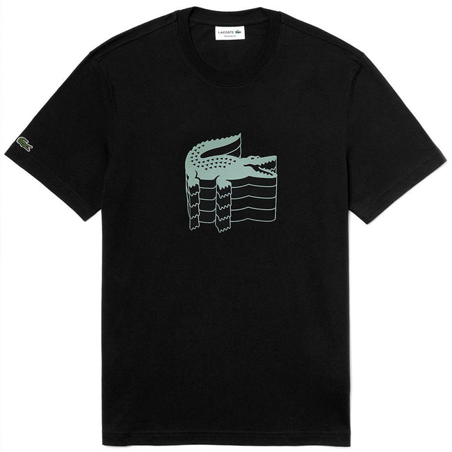 Lacoste TH4235-031 T-Shirt in Black