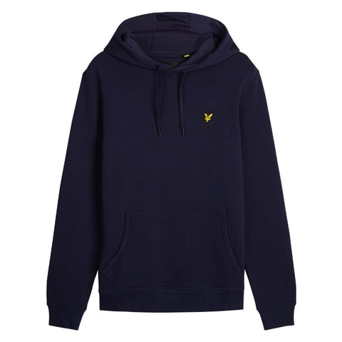 Lyle & Scott Pullover Hoodie in Navy Hoodies Lyle & Scott