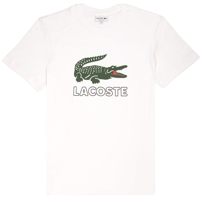 Lacoste TH6386-001 T-Shirt in White