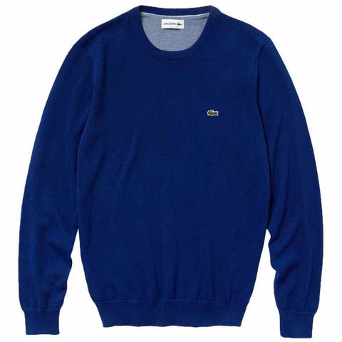 Lacoste Sweatshirt AH3467-6ZA in Blue Jumpers Lacoste