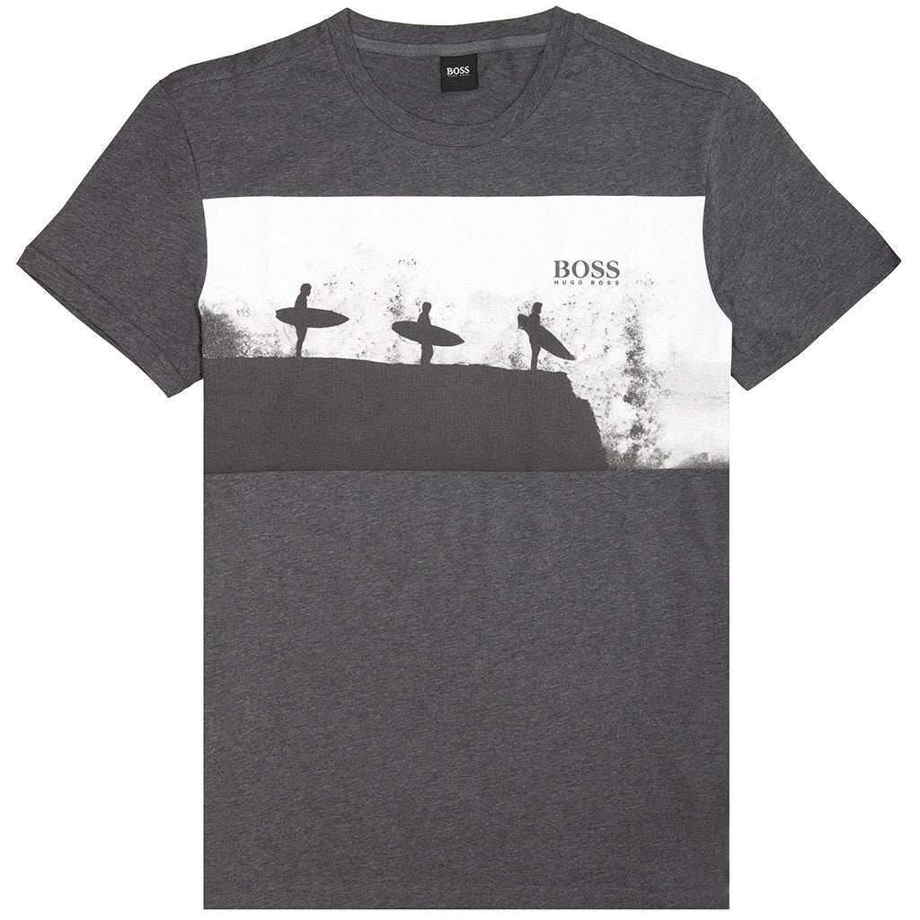 BOSS Athleisure T-Shirt RN in Grey