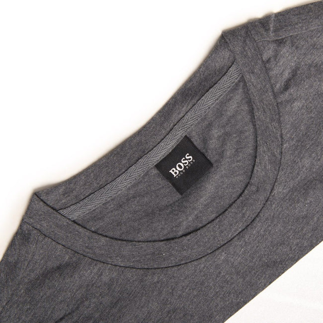BOSS Athleisure T-Shirt RN in Grey T-Shirts BOSS