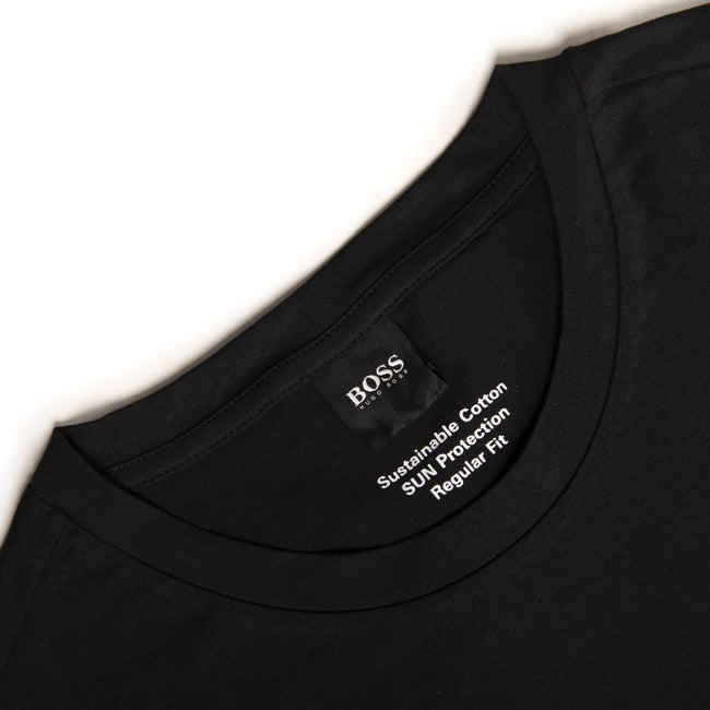 BOSS Bodywear T-Shirt RN UV-Protection in Black T-Shirts BOSS