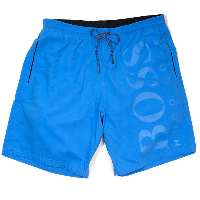 BOSS Athleisure Orca Swim Shorts in Blue